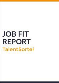 talentsorter job fit report