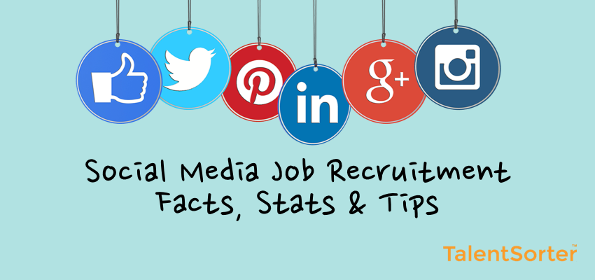 social media job recruitment