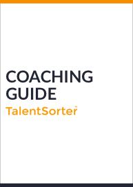 talentsorter coaching guide