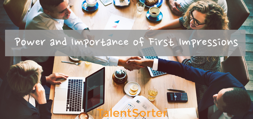 the importance of first impressions In less than sixty seconds, people form their first impressions of you finally, it is especially important to make your first impression positive.