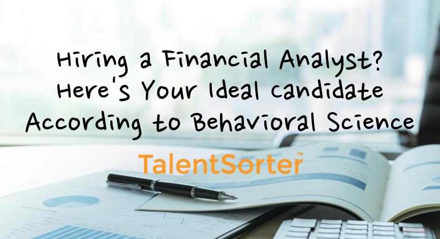financial analyst psychometrics