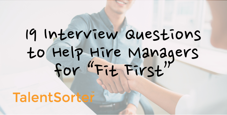 interview questions for managers
